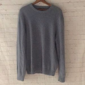 Old Navy Cashmere Crew Neck Sweater Heather Blue L